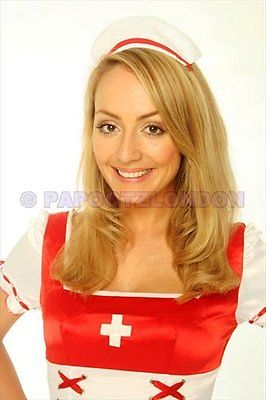 Nurse Outfit Hospital Ladies Fancy Dress Costume-802