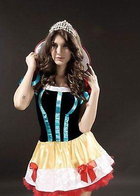 Adult Snow White Fairytale Costume-0