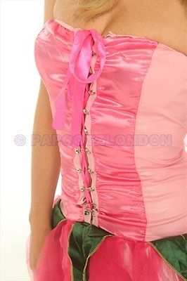 FANCY DRESS COSTUME - FUN PINK FAIRY / ANGEL HEN NIGHT-685