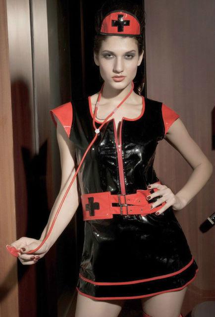 Gothic Nurse Costume-0