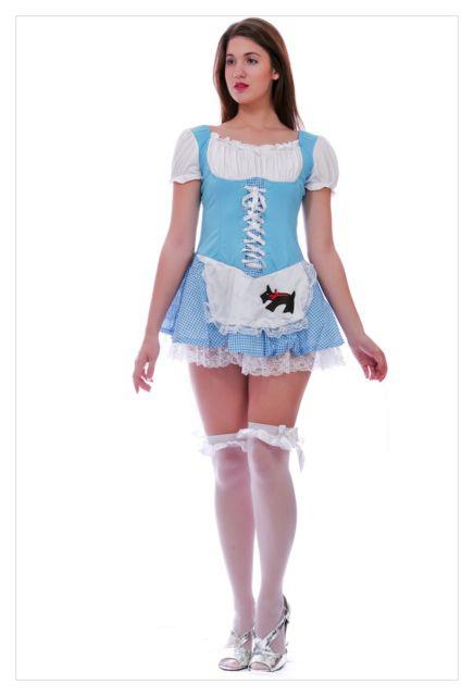 Alice in Wonderland Fancy Dress Christmas costume-0
