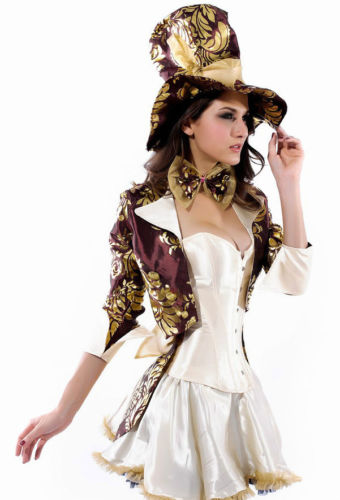 Deluxe Tea Party Hatter Costume-0