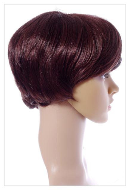 BOB STYLE Honey & DK Brown Lady Wig! Wigs-631