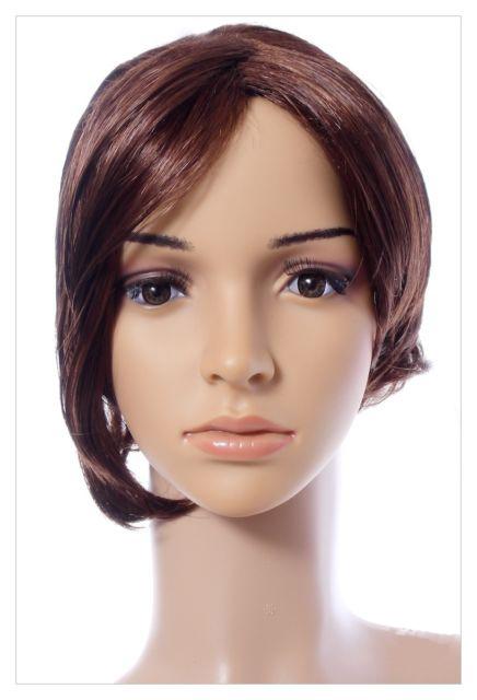 Bob Style Short Ladies Wig Black Brown Blonde Lady Wig-614