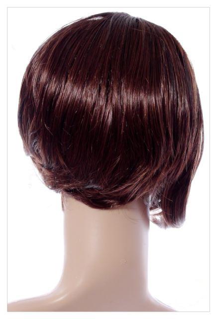 Bob Style Short Ladies Wig Black Brown Blonde Lady Wig-615