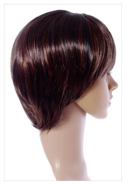 Amazing Long Choc Brown Honey Blonde Lady Wig! UK-609