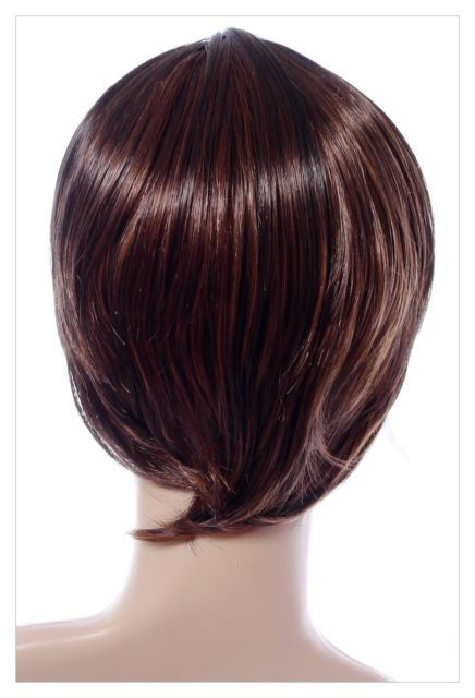 Amazing Long Choc Brown Honey Blonde Lady Wig! UK-607