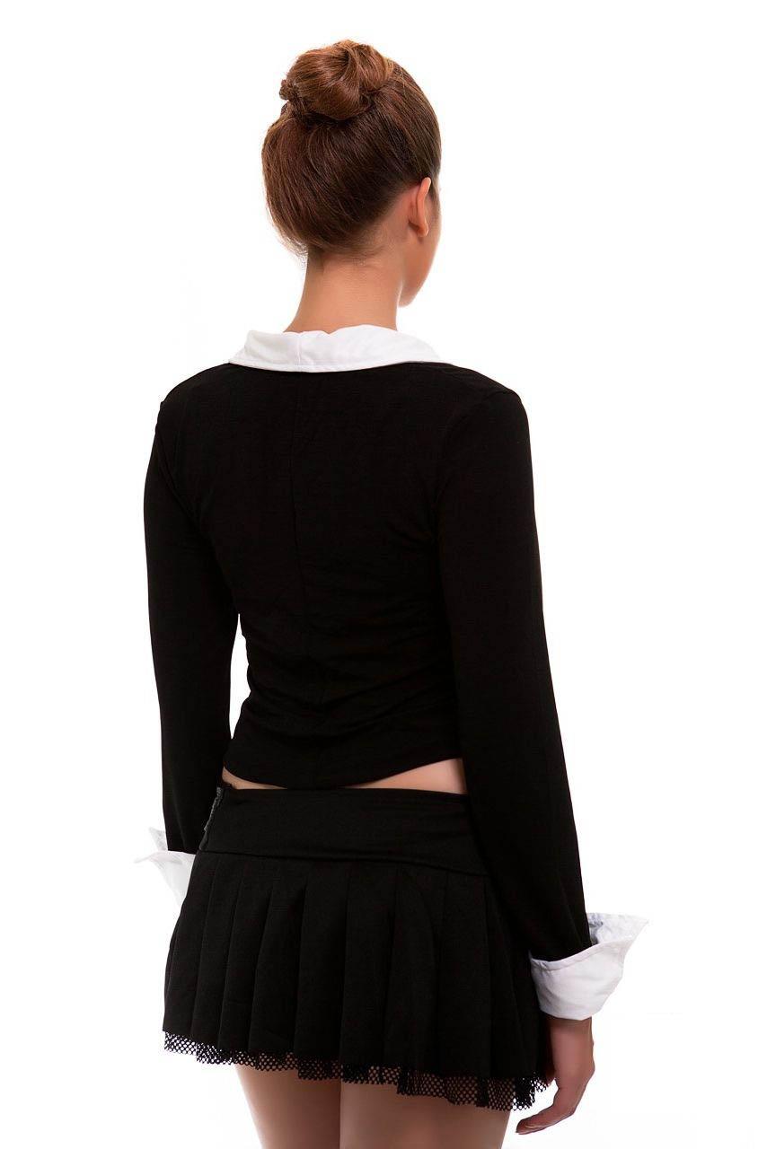Sexy Highschool School Girl Uniform Fancy Dress Costume-1335