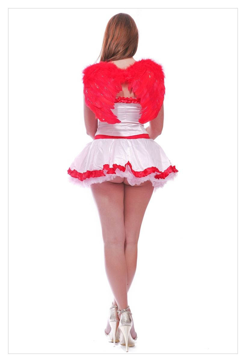 Fancy Dress Costume # Sexy Valentings Day Cupid Outfit-1120
