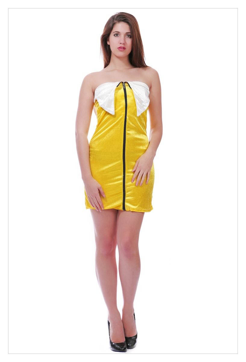 Sexy Girl Fruit Cospaly Mini Dress Halloween Fancy-1031