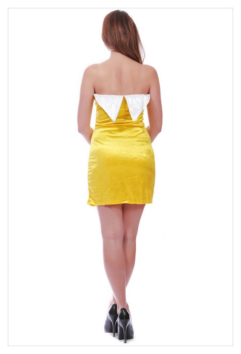 Sexy Girl Fruit Cospaly Mini Dress Halloween Fancy-1032