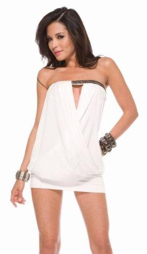 Sexy new ladies clubwear party strapless mini dress-0