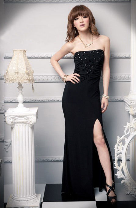 Formal Long Evening Gown Dress Cocktail Party Bridesmaid Prom-0