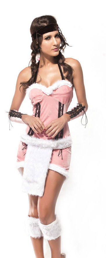 Indian Princess Ladies Wild West Fancy Dress Costume Indian Squaw-1142