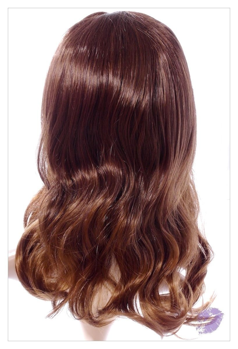 Amazing Long Choc Brown Honey Blonde Lady Wig! UK-1516