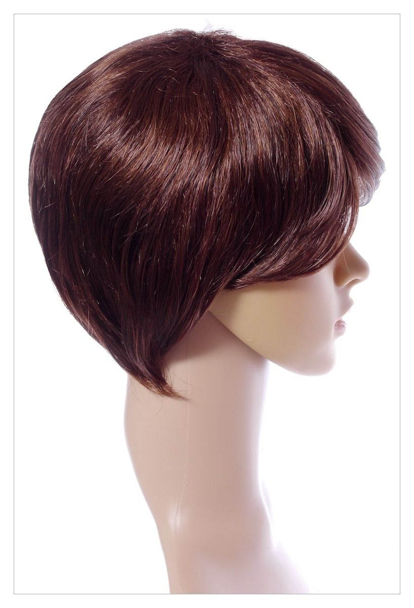 Bob Style Medium Ladies Wig Black Brown Blonde Faceframe Lady Wigs UK Shipping-1486