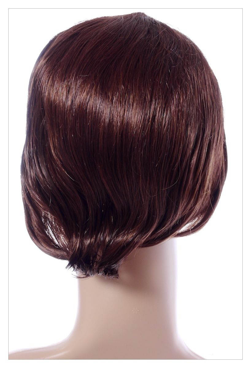 Bob Style Medium Ladies Wig Black Brown Blonde Faceframe Lady Wigs UK Shipping-1487