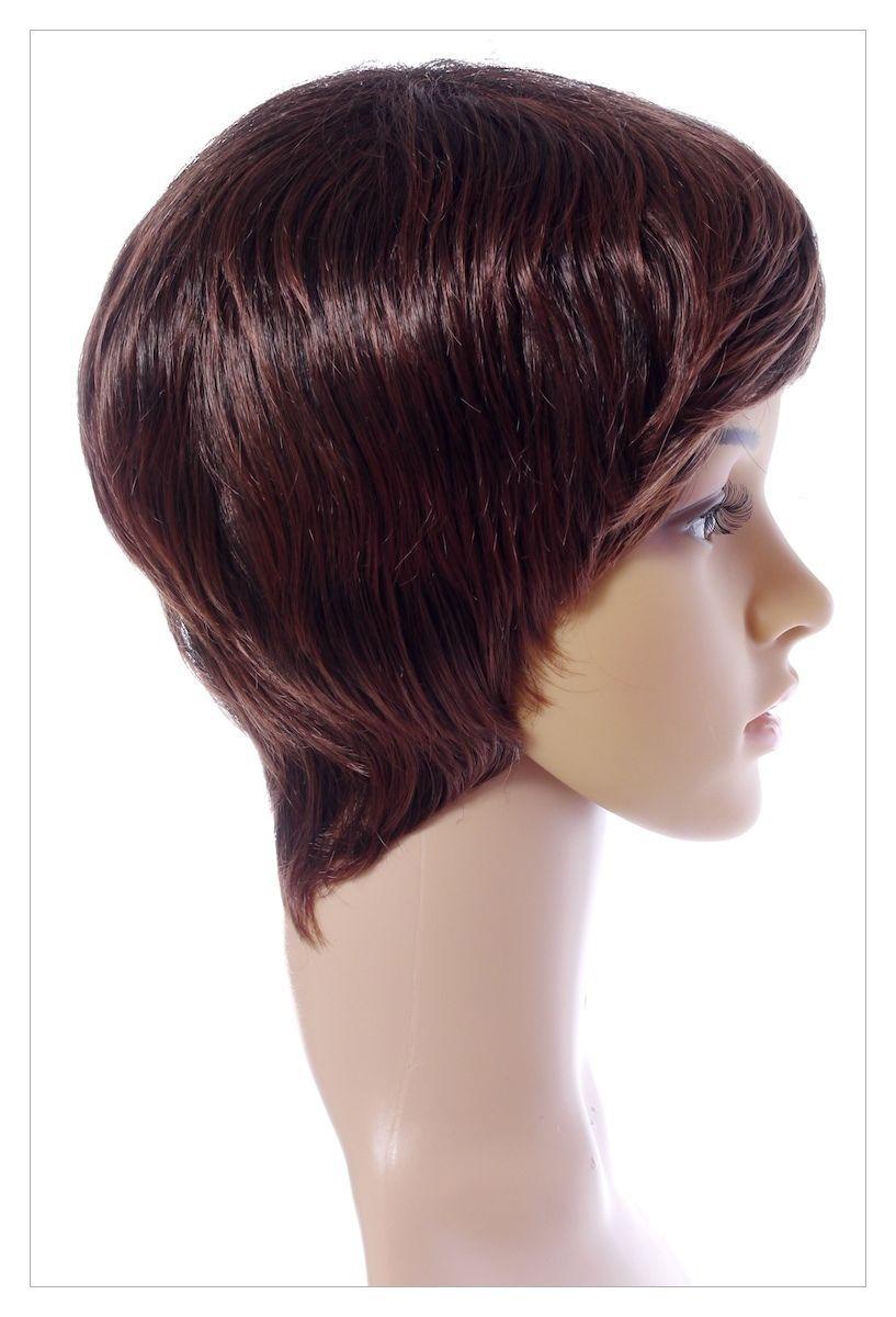 Luscious Dark Coffee Brown XXX Long Lady Wig! UK-1406