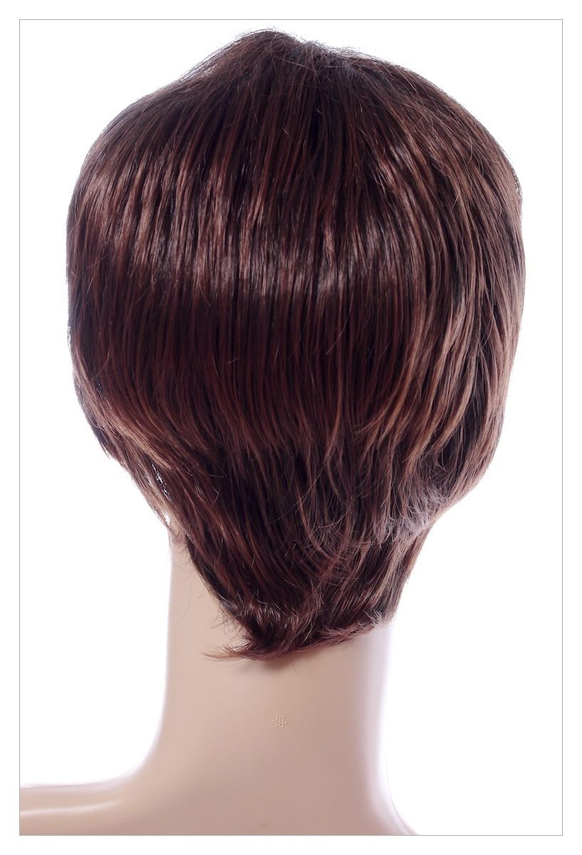 Luscious Dark Coffee Brown XXX Long Lady Wig! UK-1407