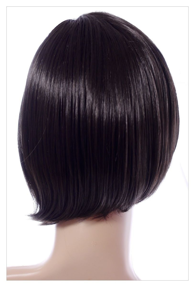 BOB STYLE Jet Black Short Lady Wig! Wigs UK-1393