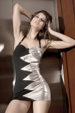 Fashion Splice Club Dress-2120