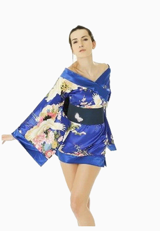 geisha girl floral kimono