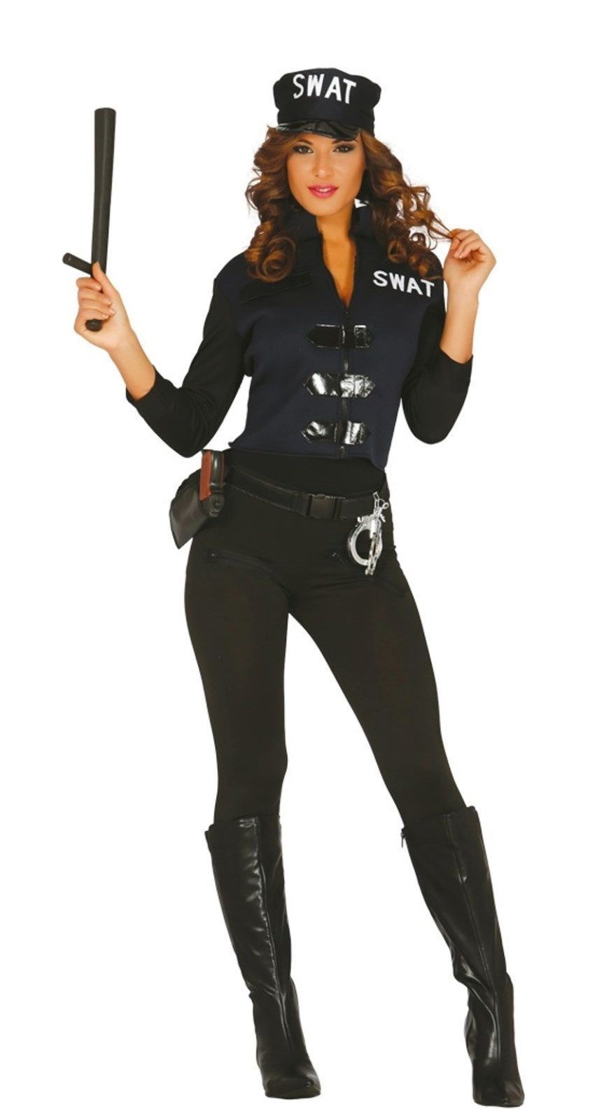 womens Police swat cop costume