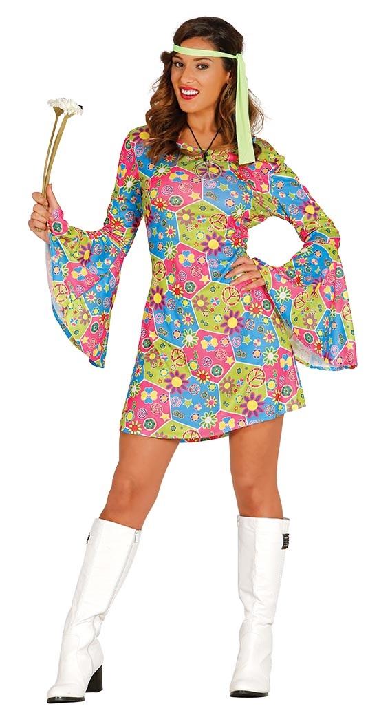Hippy Flower Power Dress