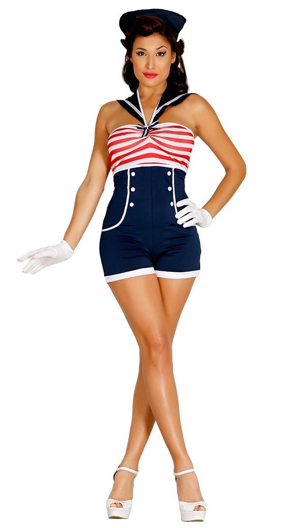 Pin Up Sailor Girl Costume