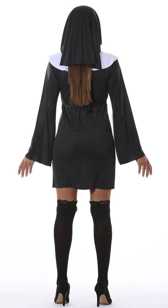 Adult Classic Nun Habit religion Costume-2576