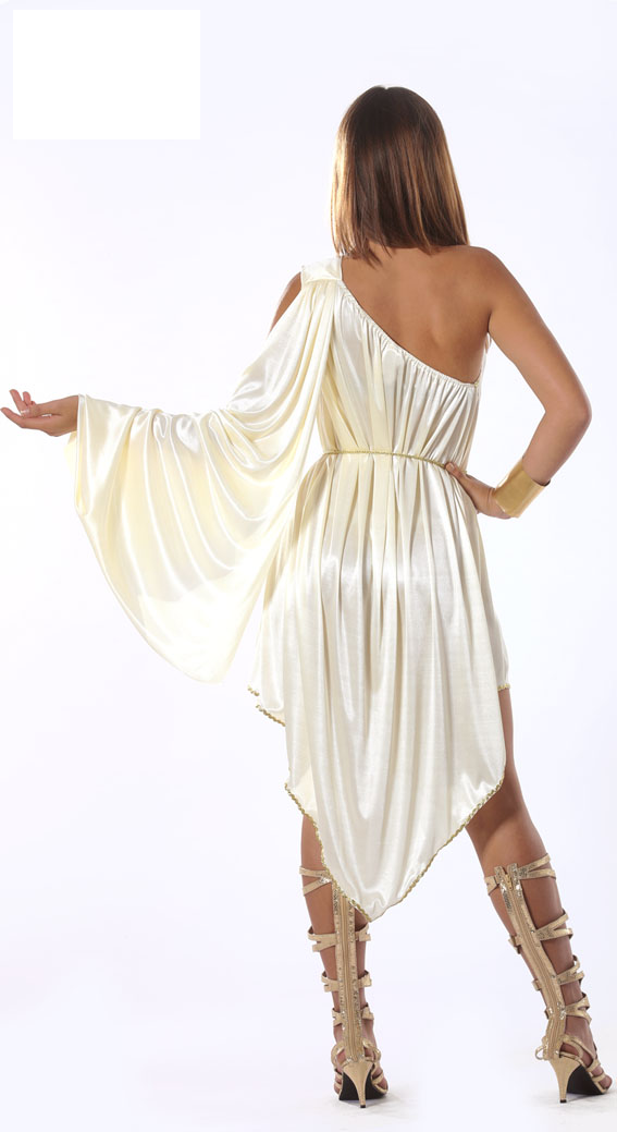 Deluxe Classic Greek Roman Costume back