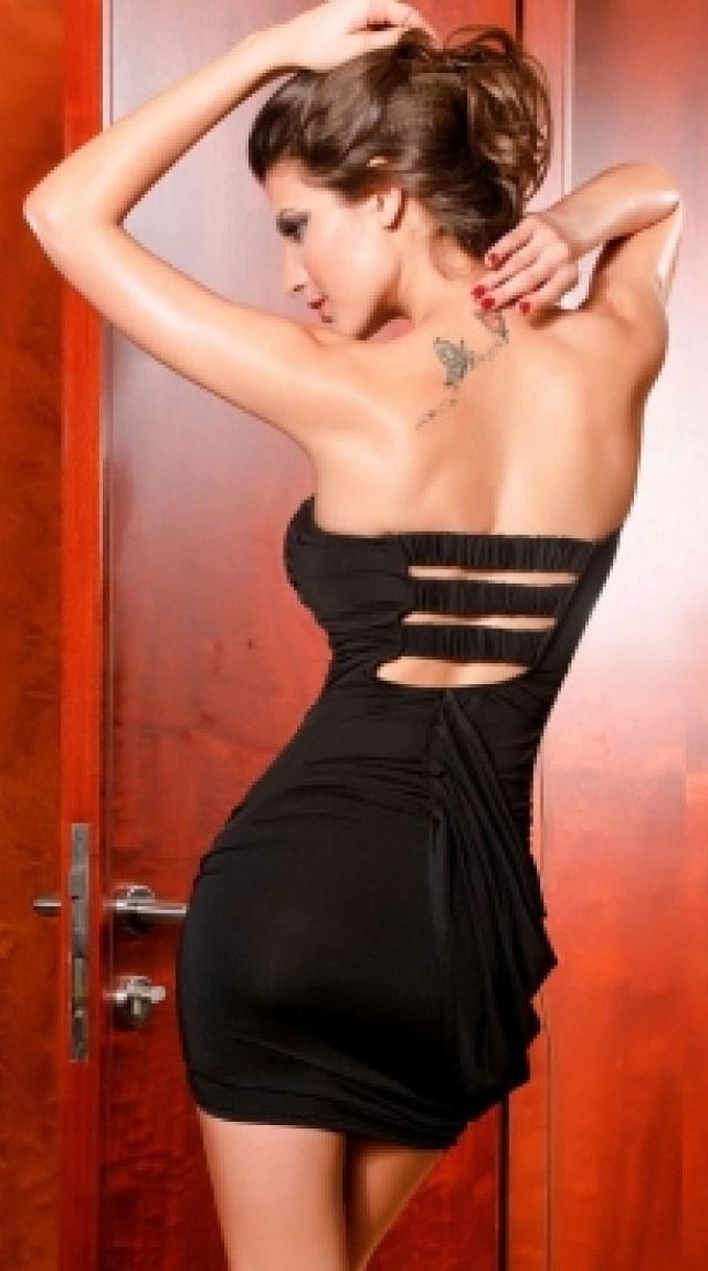 Mini Dress back
