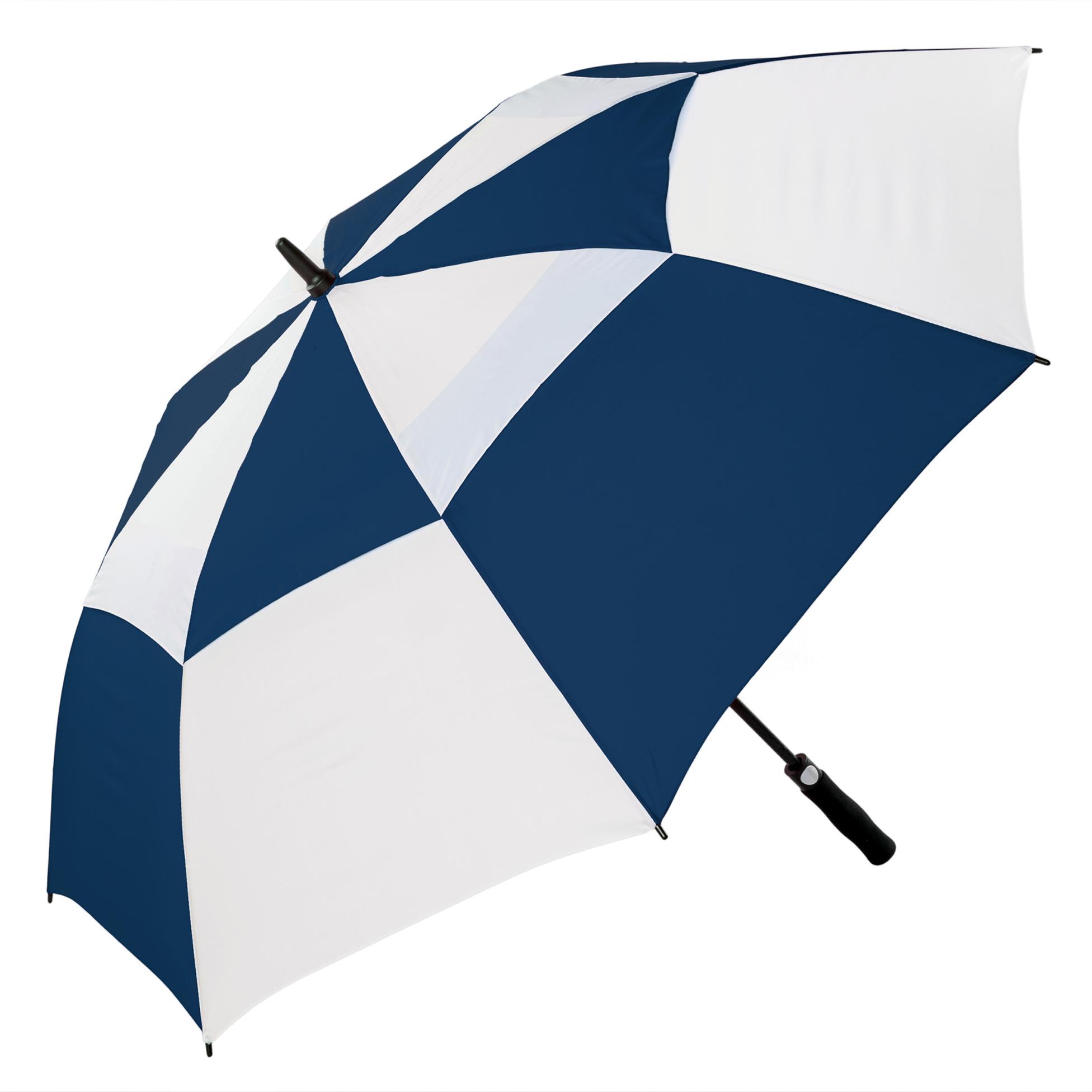 navy/white windproof umbrella